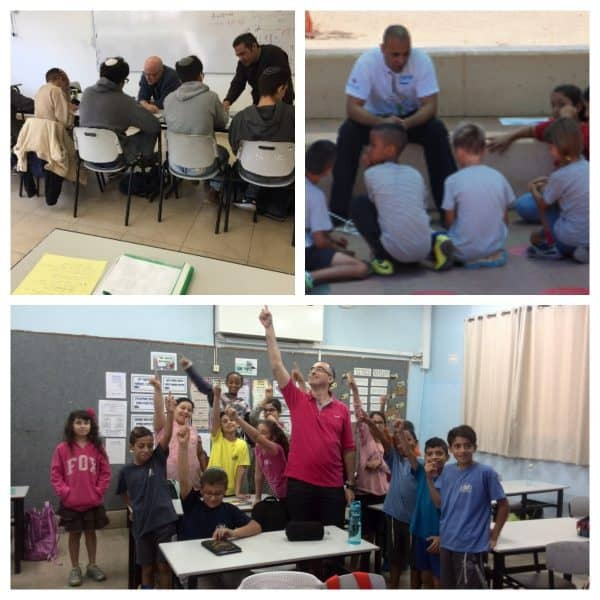 שיעור אחר: כשמתנדבים מגיעים לכיתה ונותנים לילדים השראה לחיים