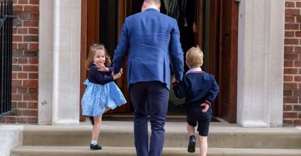 למרות האח הקטן, דווקא הנסיכה שרלוט היא זו שעושה היסטוריה