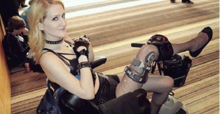 מחאה חדשה: גם אנשים על כיסא גלגלים הם סקסיים