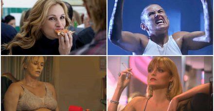 11 שחקניות שעברו שינוי קיצוני במשקל למען תפקיד