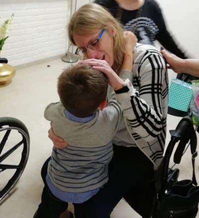 מאיה מרקביץ בלטר ובנה