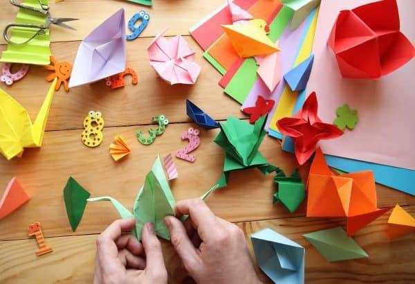 """פסטיבל אוריגמי בדיזינגוף סנטר. צילום: יח""""צ"""