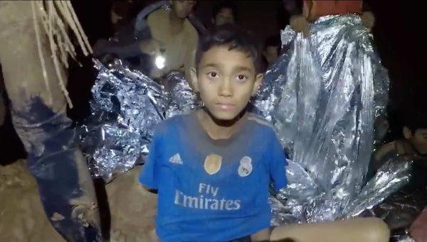 אסון הנערים הלכודים בתאילנד