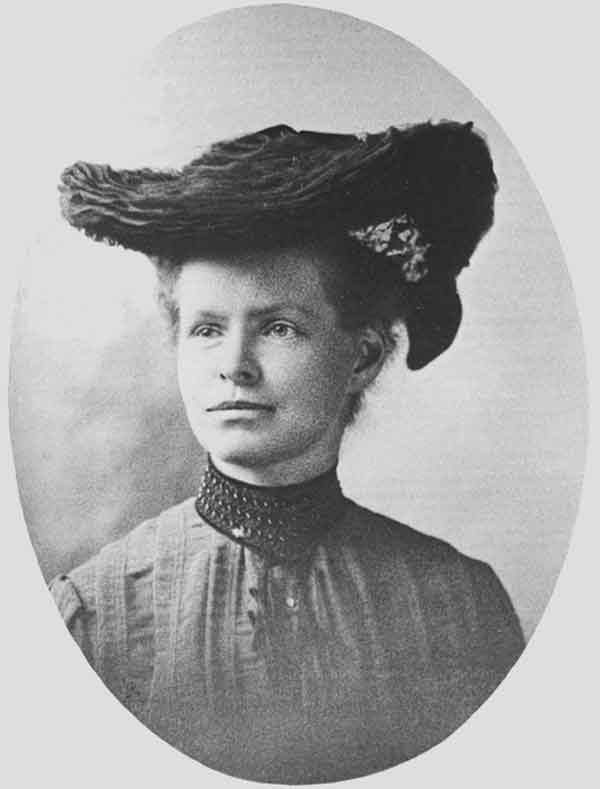 נטי מ. סטיבנס. צילום מתוך ויקיפדיה