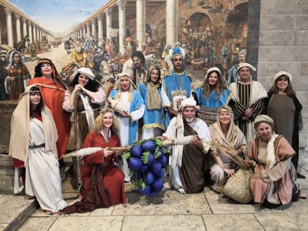 לחיות את התנך הרובע היהודי. צילום: יחצ