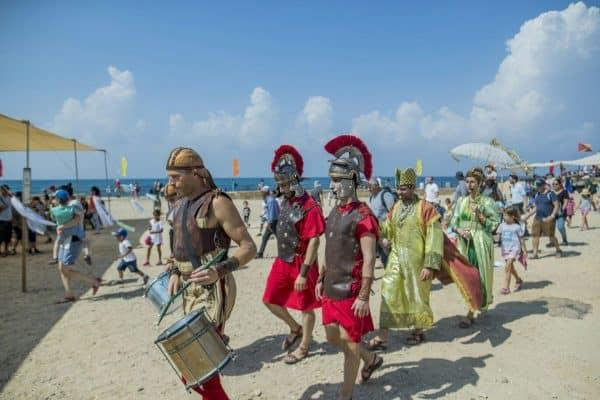 פסטיבל העת העתיקה קיסריה. צילום: ורד שריג