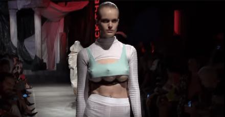 שבוע האופנה מילאנו: דוגמניות עם שלושה שדיים גנבו את ההצגה