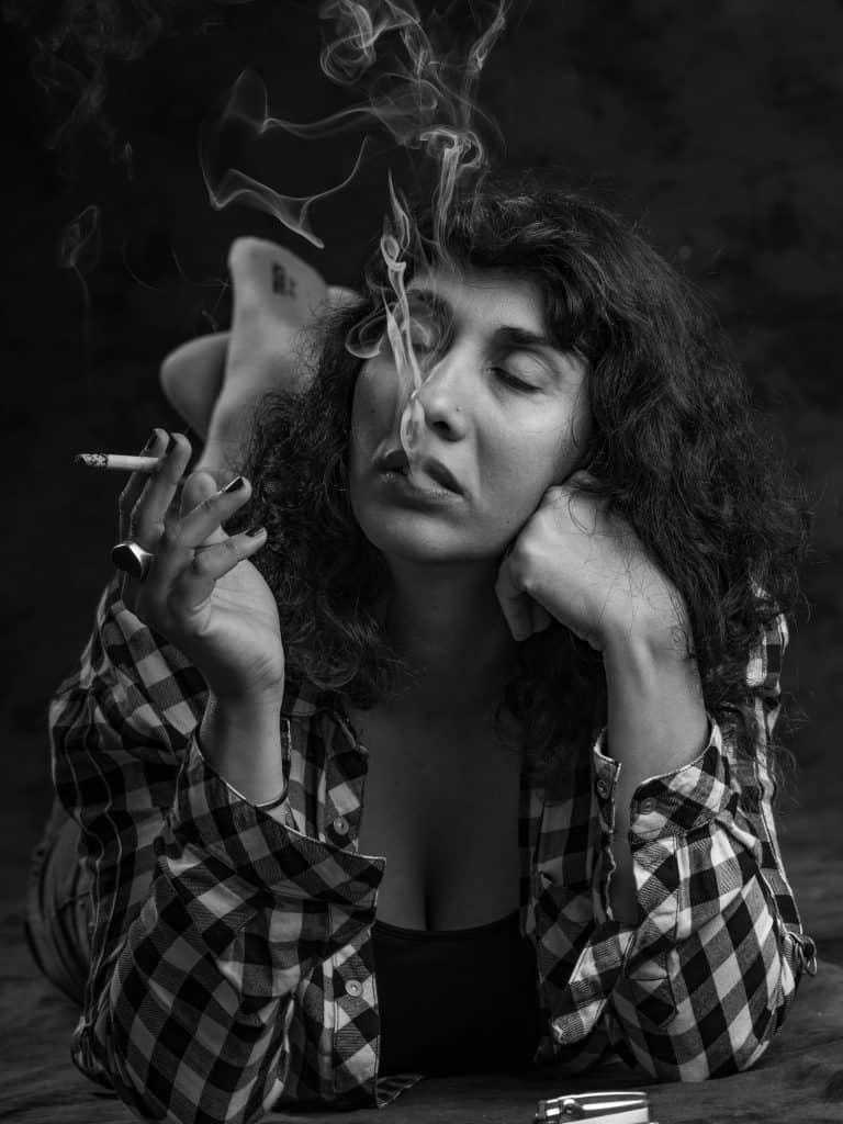 מסך עשן. ליאת גוריש. צילום: אלעד אקרמן