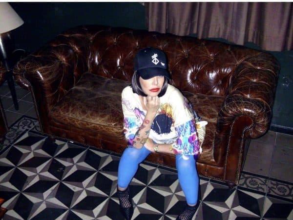 קרין קאופמן. צילום: אמילי קור, בלוגרית אופנה bad time TLV