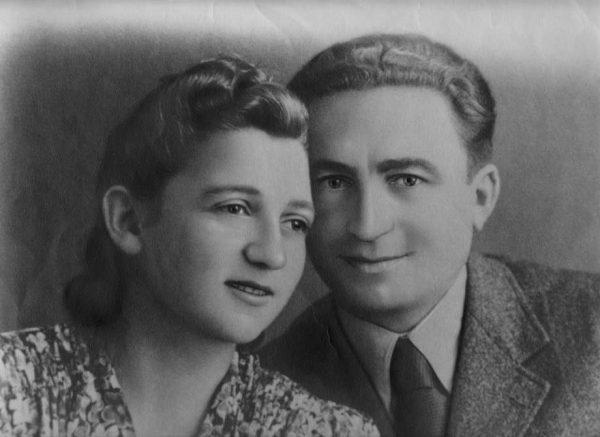 סוניה אורבך ובעלה יצחק. תמונה: Jewish Partisan Education Foundation
