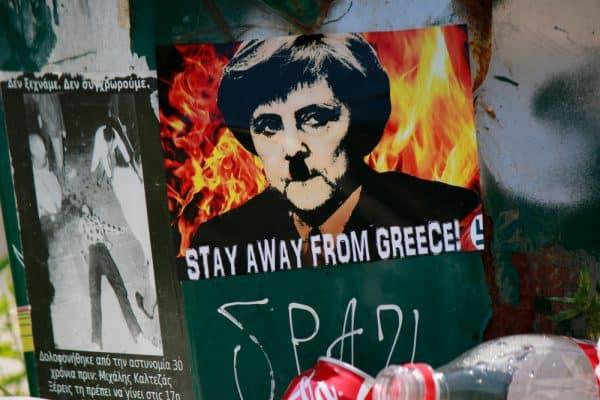 המחאות ביוון. תמונה: Shutterstock