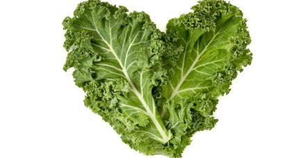 הכי ירוק שיש: סלט קייל, תרד, עשבי תיבול ורימונים