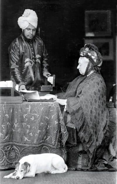 המלכה ויקטוריה ומוחמד עבדול כארים