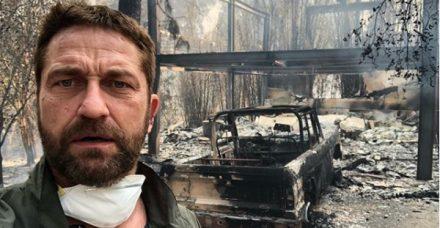 האש בקליפורניה ממשיכה להשתולל והכוכבים תוקפים את טראמפ