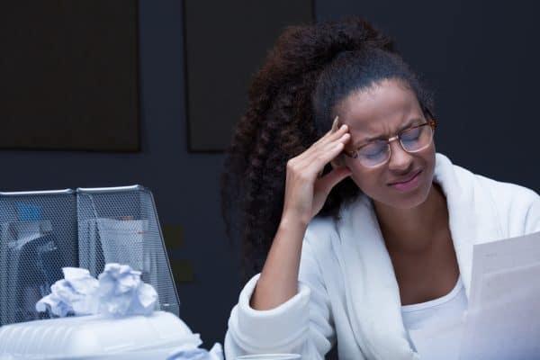 אישה מתוסכלת. צילום: Shutterstock
