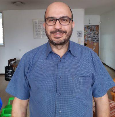 מאיר שדה, מנהל הבנק החברתי למזון תינוקות. צילום ביתי