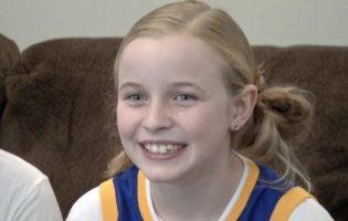 בת 9 לא ויתרה לכדורסלן סטפן קארי – וזה השתלם לכולנו