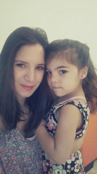 הילה דניאל ובתה. צילום ביתי