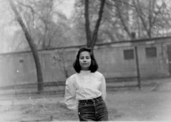 מרינה קיגל בילדותה. צילום ביתי