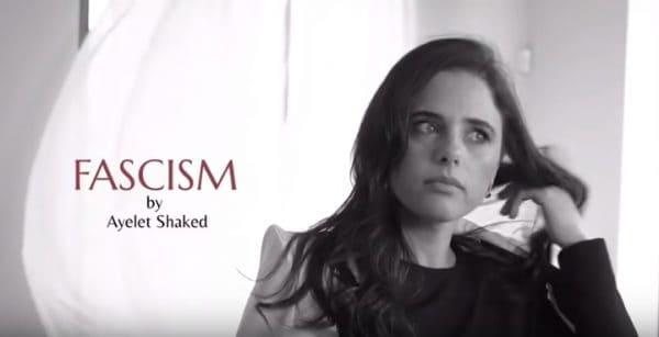 איילת שקד בסרטון הבחירות. צילום מסך מתוך יוטיוב