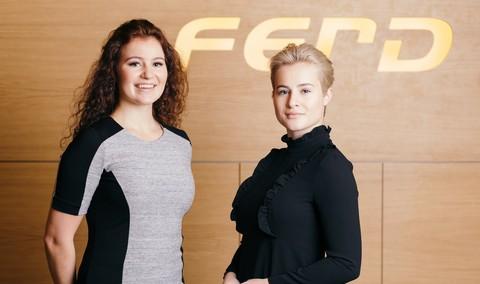 האחיות המיליארדריות מנורביגה. אלכסנדרה וקטרינה אנדרסן. צילום: FERB