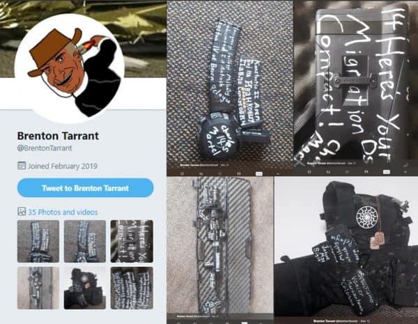 צילום מעמוד הטוויטר של הרוצח
