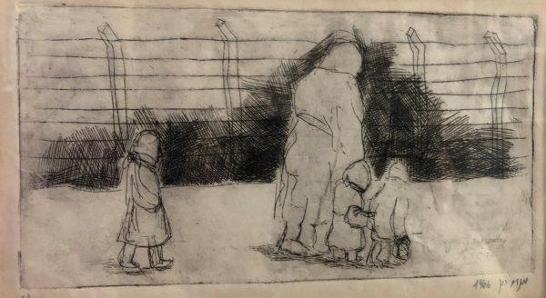 ציור: פרופ' מנחם-רון וכסלר