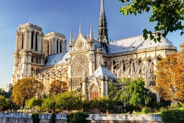 קתדרלת נוטרדאם בפריז. צילום: shutterstock