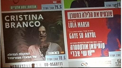 פניה של הזמרת כריסטינה ברנקו, מרוסס. צילום: אשדודנט