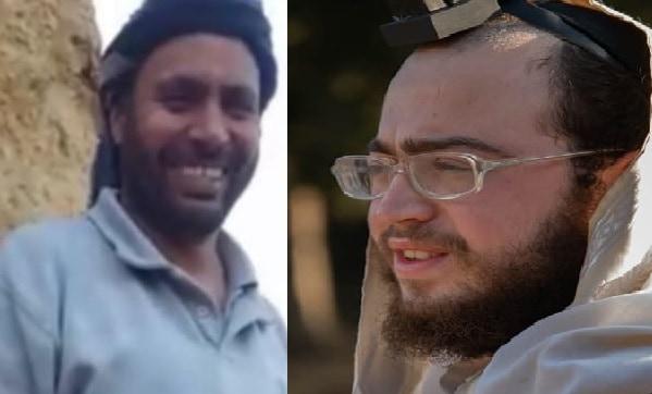 זיאיד אל-חמאמדה ופנחס מנחם פשוזמן. צילום ביתי