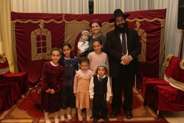 משפחת שבח לפני האסון. צילום באדיבות יעל שבח