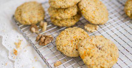 עוגיות שקדים וגזר