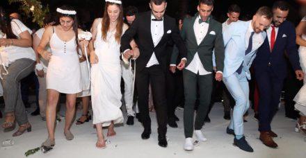 """לוסי האריש בחתונה הגאה הגדולה בישראל: """"עושים היסטוריה"""""""