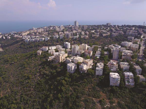 שכונת רמת התשבי בחיפה. צילום: עמרי שפר