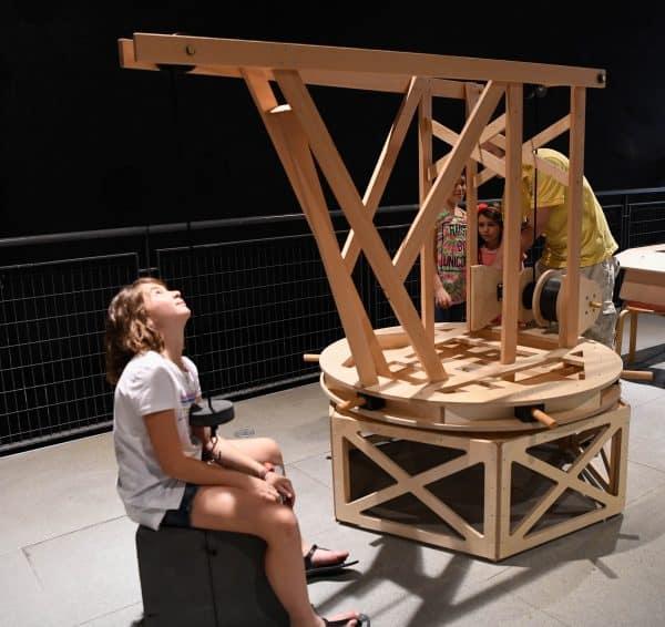 תערוכת דה וינצי במוזיאון המדע. צילום: אבי חיון