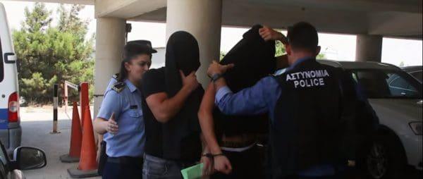 הצעירים החשודים בפרשת האונס בקפריסין. צילום מסך יוטיוב