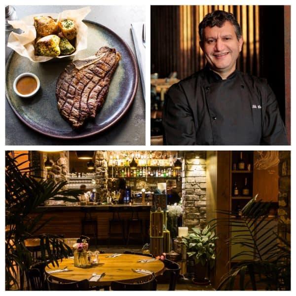השף חיים טיבי צילום דן פרץ. מסעדת טיביס צילום איתיאל ציון