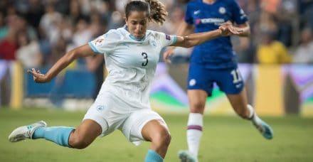 """כשהישראליות הבקיעו והקהל שאג: """"בכלל לא קלטתי שמדובר בכדורגל נשים"""""""