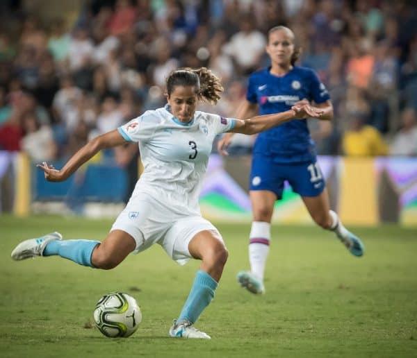 משחק הידידות של נבחרת ישראל נשים מול קבוצת צ'לסי. צילום עודד קרני, ההתאחדות לכדורגל