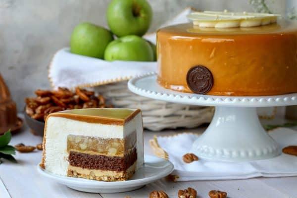 מאפיות ג'ייקובס- מוס תפוחים וניל קרמל _צילום נטע ליבנה
