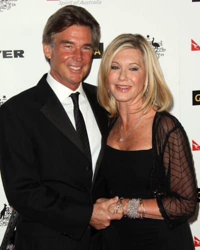 עם בעלה, ג'ון אסטרלינג. תמונה: Shutterstock