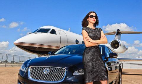 אינארלי. בנתה עסק בעל הכנסה גבוהה, רזה במיוחד שמוכר מטוסי עסקים. צילום: Par Avion