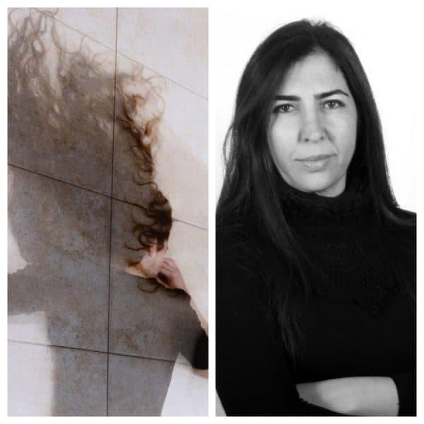 אמירה ז'אן והעבודה שלה בתערוכה 'אישה שוכבת'