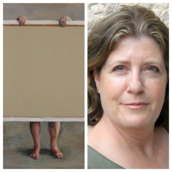 חנה גולדברג והעבודה שהיא מציגה בתערוכה 'חשופה'