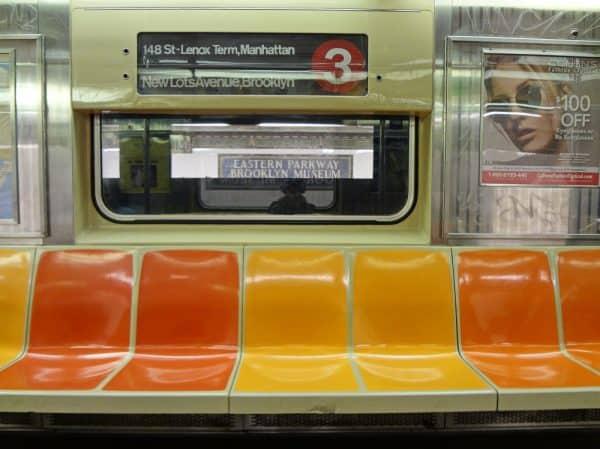 הרכבת התחתית בניו יורק בעקבות משבר הקורונה. צילום:shutterstock