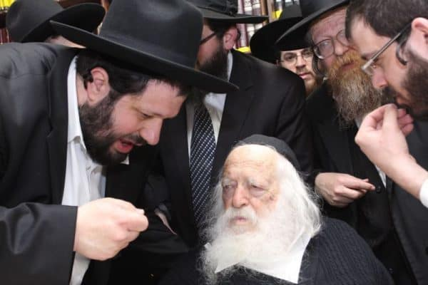 הרב חיים קניבסקי צילום דודי פרידמן / ויקיפדיה