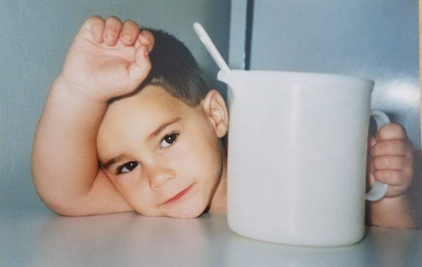 יובל אורן בגיל 3