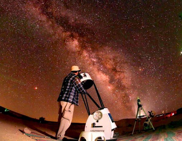 הדובה הגדולה, לילות כוכבים בתמנע. צילום איתמר ברסט