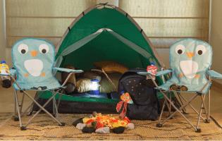 בלי לצאת מהבית: איך להקים מחנה עם מדורה