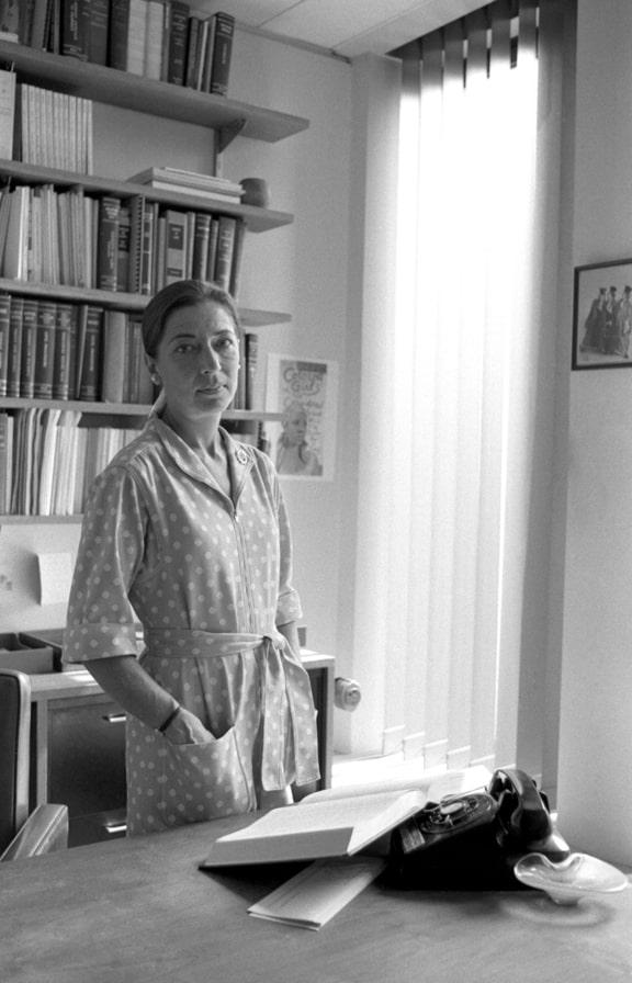 רות ביידר גינסבורג צילום ליין גילברט 1977